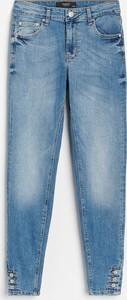 Niebieskie jeansy Reserved w stylu casual z jeansu