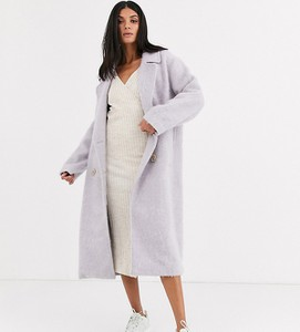 Fioletowy płaszcz Asos