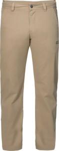 Spodnie Jack Wolfskin z bawełny