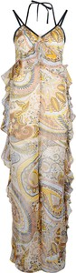 Kombinezon ubierzsie.com z tkaniny z długimi nogawkami