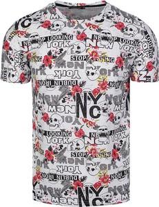 T-shirt Neidio z krótkim rękawem z bawełny
