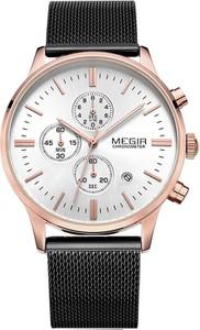 Zegarek męski MEGIR - BOERG - CHRONOGRAF 1C+ PUDEŁKO