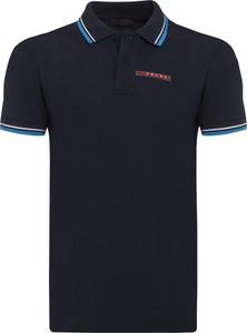 Koszulka polo Prada z krótkim rękawem w stylu casual