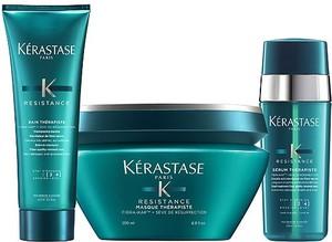 KERASTASE THERAPISTE Zestaw przywracający jakość włosa kąpiel 250ml, maska 200 ml i serum dwufazowe 30ml