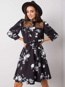 Sukienka Sheandher.pl z długim rękawem hiszpanka z bawełny