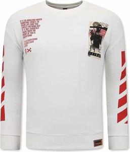 Bluza TONY BACKER w młodzieżowym stylu z bawełny