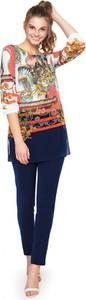 Granatowe spodnie L'AF