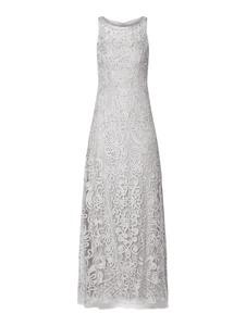 Sukienka Luxuar w stylu glamour z tiulu maxi