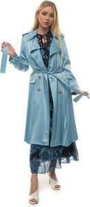 Niebieski płaszcz Red Valentino