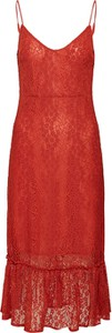 Sukienka Vila z dekoltem w kształcie litery v
