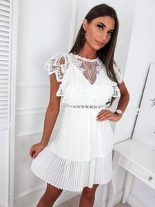 Sukienka Infinityfashion.pl z szyfonu mini