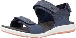 Granatowe sandały Ecco
