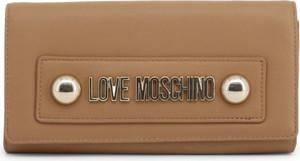 Brązowa torebka Love Moschino ze skóry