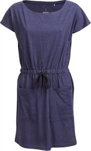 Sukienka Outhorn z krótkim rękawem z bawełny z okrągłym dekoltem