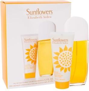 Elizabeth Arden Sunflowers Woda toaletowa W 100 ml Edt 100ml + 100ml Balsam