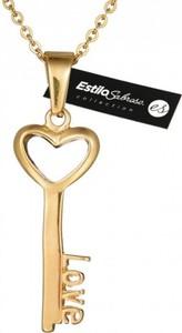 Damski naszyjnik klucz z sercem Estilo Sabroso ES04866