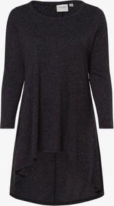 T-shirt Junarose w stylu casual z długim rękawem z okrągłym dekoltem