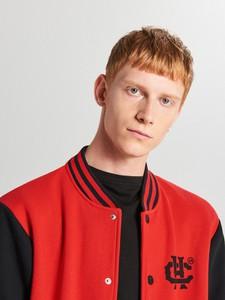 Czerwona bluza Cropp