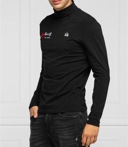 Czarny sweter La Martina w stylu casual