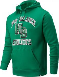 Bluza New Balance w sportowym stylu z bawełny