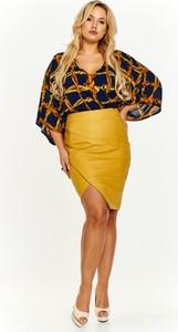 Żółta spódnica ADRAINO INES ROSE