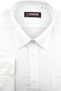 Koszula Konsul z tkaniny z klasycznym kołnierzykiem
