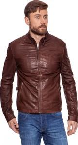 Brązowa kurtka Wrangler w stylu casual