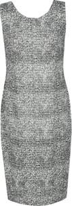 Sukienka Fokus bez rękawów z żakardu