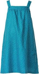 """Frugi Sukienka ciążowa """"Fern"""" w kolorze niebieskim"""