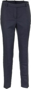 Niebieskie spodnie Loro Piana z kaszmiru