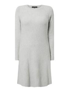 Sukienka Vero Moda z długim rękawem z dzianiny prosta