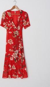 Sukienka House maxi w stylu casual z krótkim rękawem