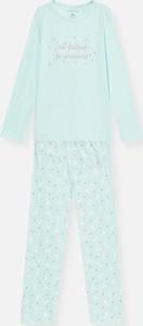 Zielona piżama Sinsay