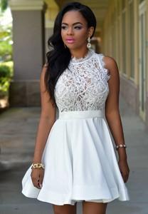Sukienka DAFNIS z okrągłym dekoltem