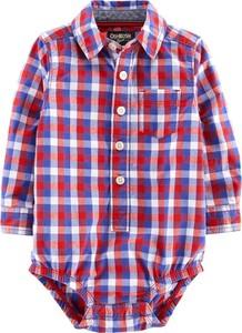 Koszula dziecięca OshKosh w krateczkę z bawełny