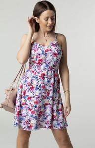 Sukienka Ptakmoda.com mini na ramiączkach