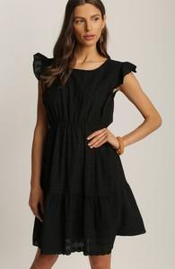 Sukienka Renee oversize z krótkim rękawem