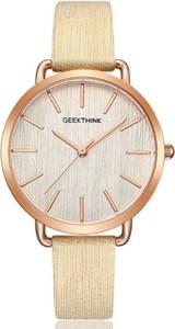 Delikatny zegarek damski GeekThink - złoty
