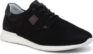 Czarne buty sportowe Quazi sznurowane