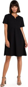 Sukienka Be mini z krótkim rękawem