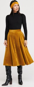 Pomarańczowa spódnica Reserved