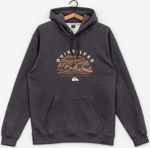 Granatowa bluza Quiksilver z bawełny