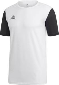 Koszulka dziecięca Adidas z krótkim rękawem z dżerseju