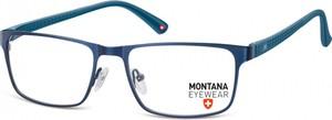 Stylion Oprawki prostokątne optyczne Montana MM610A granatowe