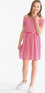 Różowa sukienka dziewczęca Here And There