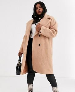 Płaszcz Glamorous Curve z wełny