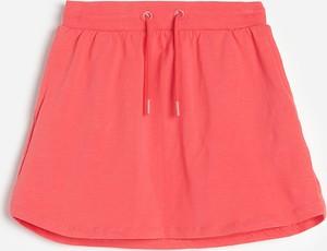 Czerwona spódniczka dziewczęca Reserved z bawełny