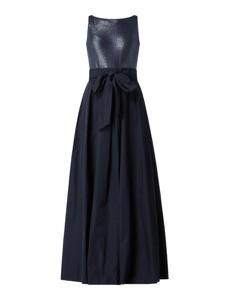 Sukienka Ralph Lauren maxi z okrągłym dekoltem bez rękawów