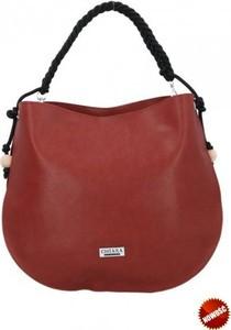 Czerwona torebka Chiara Design duża