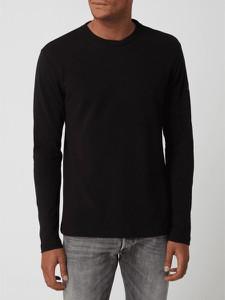 T-shirt Calvin Klein w stylu casual z długim rękawem z bawełny
